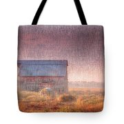 Barn In Early Light  Tote Bag
