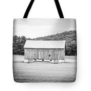 Barn In Meadow Tote Bag