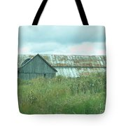 Barn In Softness Of Nature Tote Bag