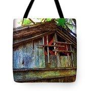 Barn In Summer Colors Tote Bag