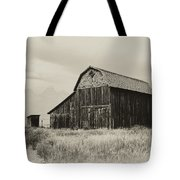 Barn In The Grand Tetons Tote Bag