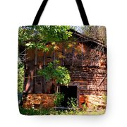 Barn In The Shade Tote Bag
