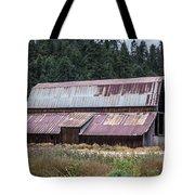 A Colorado Barn In Summer Tote Bag
