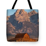 Barn In The Tetons One Tote Bag
