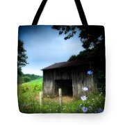 Barn N Flowers Tote Bag