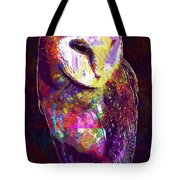 Barn Owl Bird British Nature  Tote Bag