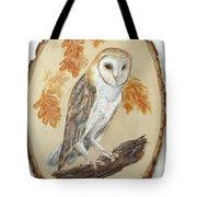 Barn Owl - Enduring Insight Tote Bag
