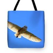 Barn Owl Flight Tote Bag