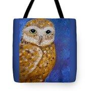 Barn Owl- Impressionism- Owl By Night Tote Bag