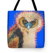 Barn Owl Painting Tote Bag