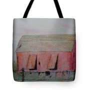 Barn The Red Tote Bag