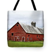 Barn With A Cross Tote Bag