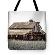 Barn With Outhouse Tote Bag