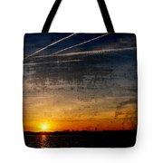Barnegat Bay Sunset - Jersey Shore Tote Bag