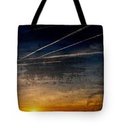 Barnegat Bay Sunset - Jersey Shore Tote Bag