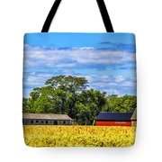Barns In The Distance Tote Bag