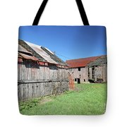 Barns Of Old Tote Bag