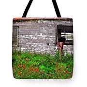 Barnside Flowers Tote Bag