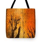 Barnwood Howl Tote Bag
