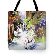 Barnyard Gathering Tote Bag