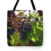 Barnyard Grapes Tote Bag