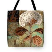 Baroque Hydrangea Patchwork Tote Bag