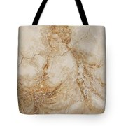 Baroque Mural Painting Tote Bag