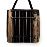 Barred Tote Bag