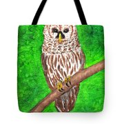 Barred Owl 08-18-2015 Tote Bag