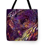 Barred Owl Bird Wildlife Nature  Tote Bag