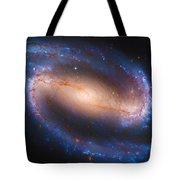 Barred Spiral Galaxy Ndc 1300 Tote Bag