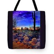 Barrel Cacti Ambling Along Tote Bag