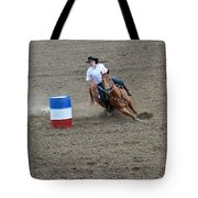 Barrel Racer Two Tote Bag