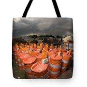 Barrels O'dab Tote Bag