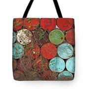 Barrels - Play Of Colors Tote Bag