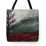 Barren Landscapes Tote Bag