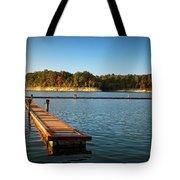 Barren River Lake Dock Tote Bag