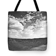 Barringer Meteor Crater Tote Bag