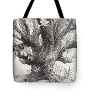 Barringtonia Tree Tote Bag
