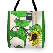 Barrio Sunflower Tote Bag by Sarah Loft