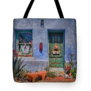 Barrio Viejo With Character Tote Bag
