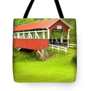 Barron's Covered Bridge Tote Bag