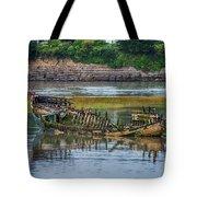 Barry Island Wrecks 2 Tote Bag