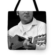 Barry Sadler With Guitar 3 Tucson Arizona 1971 Tote Bag