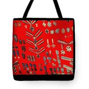 Barry Sadlers Nazi Medals Collection Tote Bag