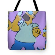 Bart The Madman Tote Bag by Robert Margetts