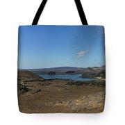 Bartolome Island Panorama Tote Bag