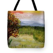 Barton Sunset Tote Bag