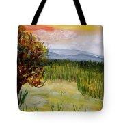 Barton Sunset Tote Bag