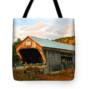 Bartonsville Covered Bridge Tote Bag